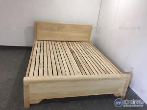 Giường ngủ gỗ sồi giá rẻ kích thước 1.8m x 2m, với màu sắc vân sồi tươi sáng và đẹp mắt, tạo sự sang trọng ấm cúng cho không gian phòng ngủ nhưng vẫn dịu nhẹ bắt mắt  Hỗ trợ giá vận chuyển đường dài và ngoại tỉnh Bảo Hành: 6 tháng Giá chưa bao gồm VAT, vui lòng + 10% nếu có nhu cầu