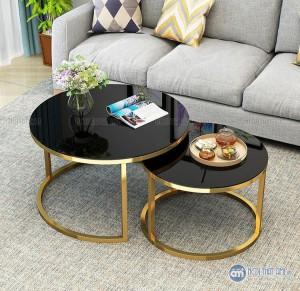 Bàn kính sofa đôi giá rẻ được làm từ loại khung sắt được phủ lớp sơn chống xước cho sản phẩmBảo Hành: 6 thángGiá chưa bao gồm VAT, vui lòng + 10% nếu có nhu cầu