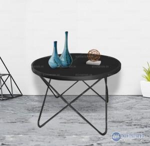 Bàn kính sofa chân kim loại hình sao chân sắt hiện đạivới mặt bàn hình tròn này được thiết kế rất ấn tượng với chân bàn được tạo hình độc đáo bo tròn dạng khuyết, mặt bàn đa dạng với nhiều các chất liệu khác nhau đem lại sự trẻ trung hiện đại, nổi bật không gian phòng khách ngôi nhà bạn.