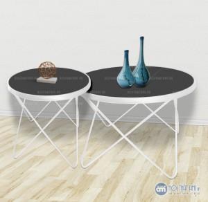 Bàn trà đôi chân kim loại hình sao là điểm nhấn cho phòng khách trở nên ấn tượng trong lòng mỗi người khách tới thăm nhà bạn!Bàn trà thiết kế kiểu hiện đại , phong cách Bắc Âu sẽ giúp cho không gian trở nên tinh tế hơn phù hợp với lối sống hiện đại trang nhã.