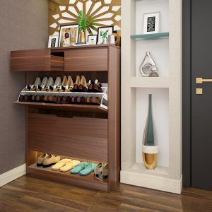 Tủ giày gỗ công nghiệp hiện đại cánh lật Bạn đang cần tìm sản phẩm tủ giày? Cho dự án? Khách sạn? Nhà ở? Đáp ứng các tiêu chí?Kích thước nhỏ gọn phù hợp cho mọi ngóc ngách căn nhà, góc cầu thang, cửa ra vào, phòng ngủ…