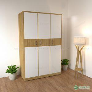 Tủ quần áo 3 cánh gỗ MDF rẻ
