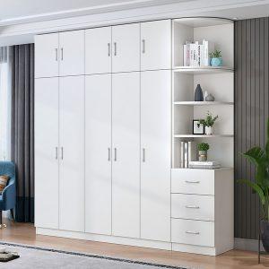 Tủ quần áo cánh lùa, tủ quần áo giá rẻ hiện đại. Kết hợp không gian phòng ngủ thoáng khi, kết hợp ánh sánh tạo nên một sự hài hòa cho không gian phòng ngủ gia đình bạn
