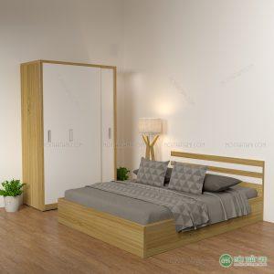Vớimẫu Giường gỗ công nghiệp giá rẻđược thiết kế với kiểu dáng cực kì tiện lợi và cuốn hút, sẽ là sản phẩm khiến bạn và gia đình mình hài lòng nhất, giường ngủ được lấy chất liệugỗ công nghiệp MDF