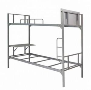 Giường sắt 2 tầng có bàn họcvới đa dạng kích thước tại nội thất AMIsẽ làm cho không gian phòng ngủ của bạn sang trọng và tiện nghi hơn.